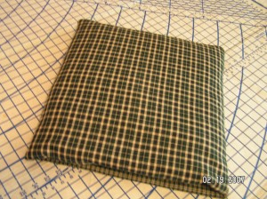 Quillo folded into Pillow {sewing instructions} ~ from Me & My House