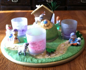 Advent Wreath ~ from Me & My House {Advent Wreath}