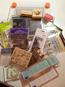 Papercrafting Supplies 201: Stamps ~ Me & My House
