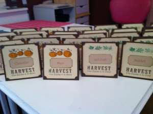 ThanksGiving Place Cards ~ from Me & My House