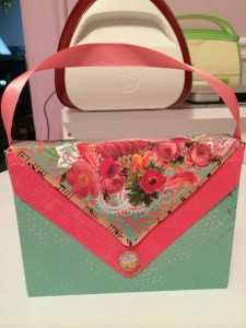 Adorable Clutch Purse Box/Envelope ~ from Me & My House