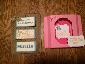 """Flash Cards"" made with Connie Stewart's template ~ from Me & My House"