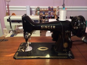 1956 Singer 99K ~ from Me & My House
