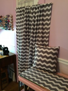 Curtains, Pillow & Crib Skirt for K ~ from Me & My House