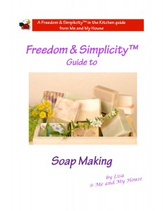 Freedom & Simplicity™ Guide to Soapmaking ~ http://gfy.frommeandmyhouse.com