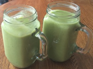 green smoothie duo
